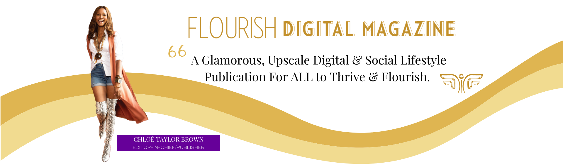 Flourish Digital Magazine Page Divider