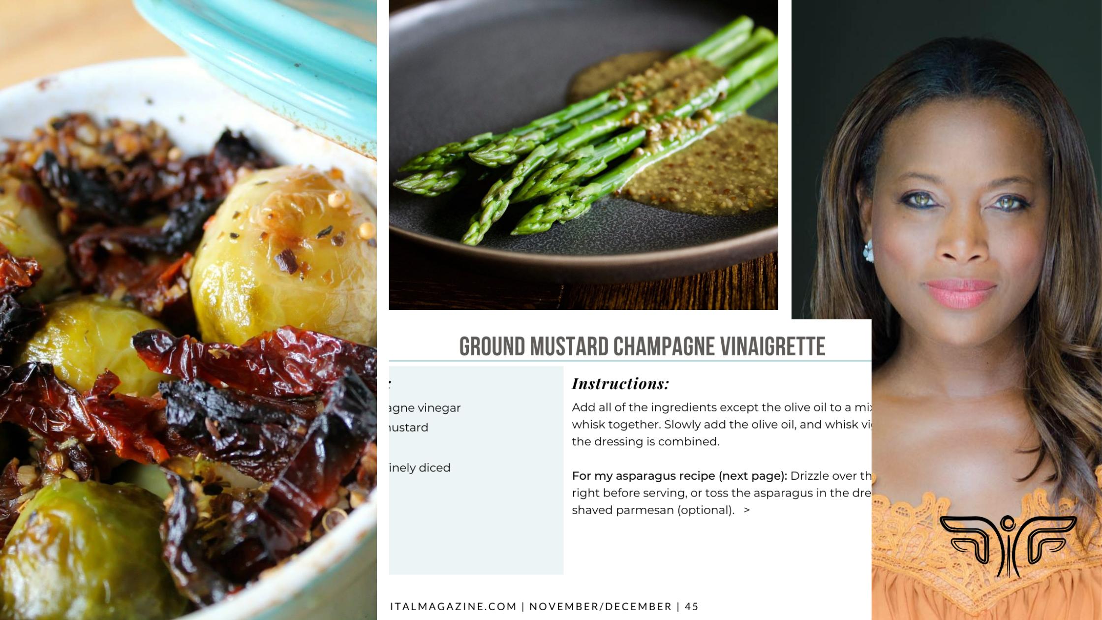 Lisa Washington - Flourish Digital Magazine - Vegan Holiday Dishes